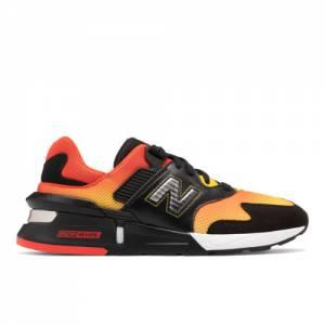 New Balance 997 Sport Men's Sport Style Shoes - Black / Red (MS997KL2)