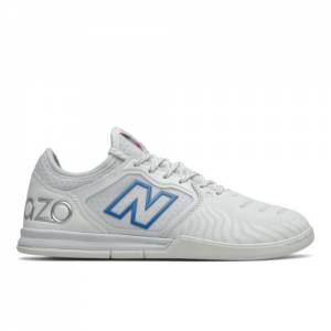New Balance Audazo V5+ Pro IN Soccer Shoes - White (MSA1IW55)