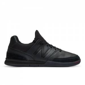 New Balance Audazo v4 Pro Leather IN Unisex Soccer Shoes - Black (MSAKIBR4)