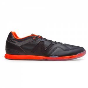 New Balance Audazo Pro Leather IN Men's Indoor Soccer Shoes - Black / Orange (MSALTIBA)