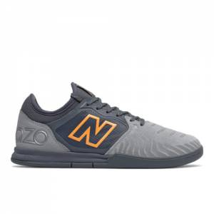New Balance Audazo V5+ Pro Suede IN Soccer Shoes - Grey (MSASIS55)