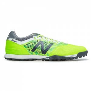 New Balance Audazo Pro TF Men's Turf Soccer Shoes - Green / Grey (MSAUDTLG)