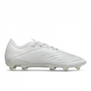 New Balance FURON V6+ Pro FG Soccer Shoes - White (MSF1FW65)