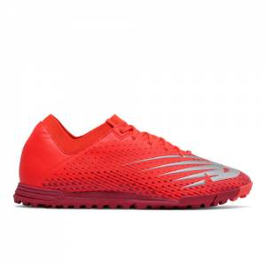 New Balance Furon v6 Dispatch TF Unisex Soccer Shoes - Red (MSF3TFC6)