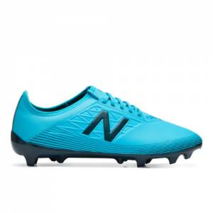 New Balance Furon v5 Dispatch FG Unisex Soccer Shoes - Blue (MSFDFBS5)