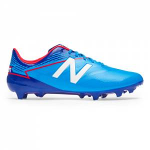 New Balance Furon 3.0 Dispatch FG Men's Soccer Shoes - Blue (MSFDFLT3)