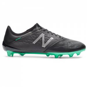 New Balance Furon v5 Pro Leather FG Men's Soccer Shoes - Black (MSFKFNB5)