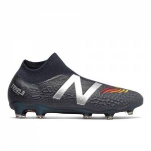 New Balance Tekela v3 Pro FG (Laceless) Soccer Shoes - Navy (MST1FLE3)