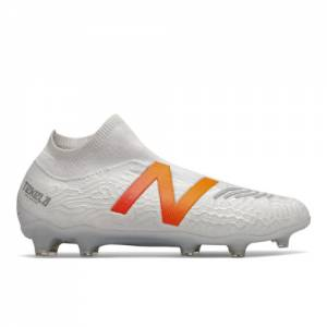 New Balance Tekela v3 Pro FG (Laceless) Soccer Shoes - White (MST1FLW3)