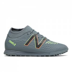 New Balance Tekela v3 Magique TF Soccer Shoes - Grey (MST3TSG3)
