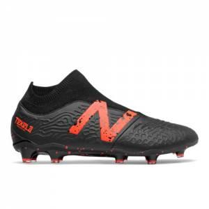 New Balance Tekela v3 Pro LEATHER FG Men's Soccer Shoes - Black / Orange (MSTKFBD3)