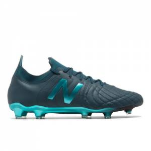 New Balance Tekela v2 Pro Leather FG Unisex Soccer Shoes - Green / Blue (MSTKFSB2)