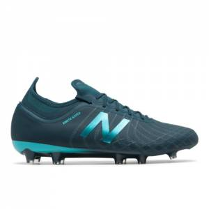 New Balance Tekela v2 Magia FG Unisex Soccer Shoes - Green / Blue (MSTMFSB2)
