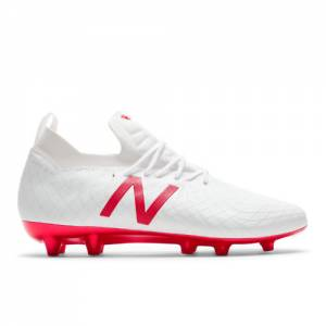 New Balance Tekela Pro FG Men's Soccer Shoes - White (MSTPFWF1)