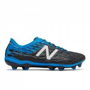 New Balance Visaro 2.0 Pro FG Men's Soccer Shoes - Black / Blue / Red (MSVROFBL)