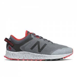 New Balance Fresh Foam Arishi Men's Trail Running Shoes - Grey / Red (MTARISCG)
