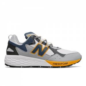 New Balance Fresh Foam Crag v2 Men's Trail Running Shoes - White (MTCRGLW2)