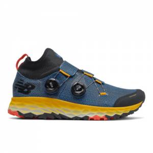 New Balance Fresh Foam Hierro Boa Men's Trail Running Shoes - Blue (MTHBOABY)