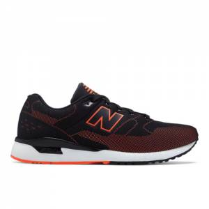 New Balance 530 Re-Engineered Men's Sport Style Sneakers Shoes - Black / Orange (MTL530BO)