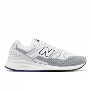 New Balance 530 Re-Engineered Men's Sport Style Sneakers Shoes - White / Blue (MTL530WB)
