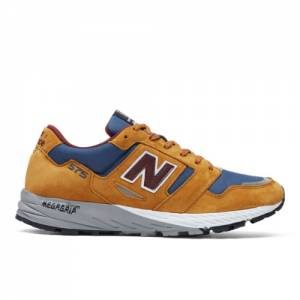 New Balance Made in UK 575 Men's Lifestyle Shoes - Orange / Blue (MTL575TB)