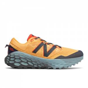New Balance Fresh Foam More Trail v1 Men's Hiking Shoes - Yellow (MTMORCY)