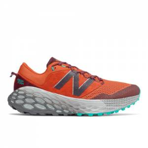 New Balance Fresh Foam More Trail v1 Men's Trail Running Shoes - Orange (MTMORRG)