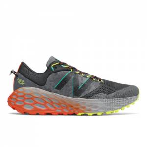 New Balance Fresh Foam More Trail v1 Men's Trail Running Shoes - Black / Grey (MTMORRY)