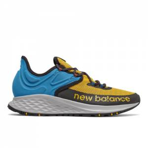 New Balance Fresh Foam Roav Trail Men's Trail Running Shoes - Yellow / Blue (MTROVRG)