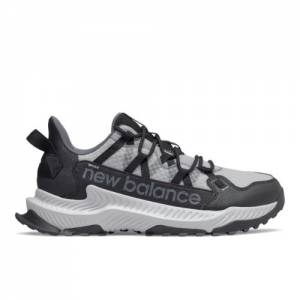 New Balance Shando Men's Trail Running Shoes - Black / Grey (MTSHALK)
