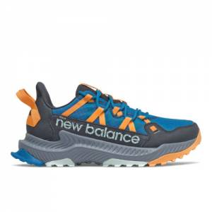 New Balance Shando Men's Trail Running Shoes - Blue / Orange (MTSHAMW)