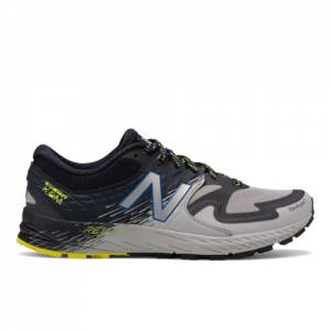 New Balance Summit K.O.M. Men's Trail Running Shoes - Grey (MTSKOMGN)