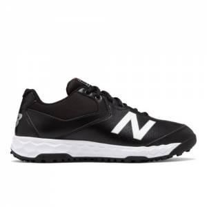 New Balance Fresh Foam 950v3 Low-Cut Field Men's Umpire Shoes - Black / White (MU950BW3)