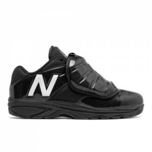 New Balance Low-Cut 460v3 Men's Umpire Shoes - Black / White (MUL460W3)