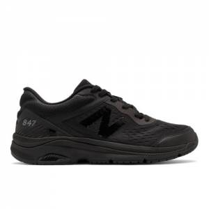 New Balance 847v4 Men's Walking Shoes - Black (MW847CB4)