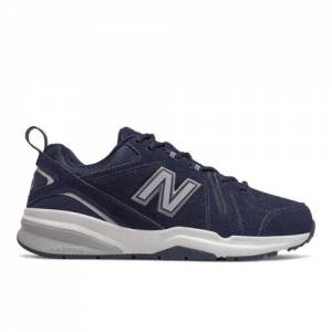 New Balance 608v5 Men's Everyday Trainers Shoes - Navy (MX608UN5)