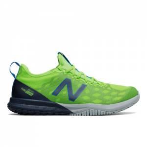 New Balance FuelCore Quick v3 Trainer Men's Cross-Training Shoes - Green / Navy / Grey (MXQIKHI3)