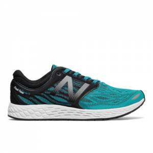 New Balance Fresh Foam Zante v3 Men's Soft and Cushioned Shoes - Green / Black / White (MZANTBN3)