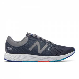 New Balance Fresh Foam Zante v4 Men's Soft and Cushioned Shoes - Navy / Grey (MZANTGG4)