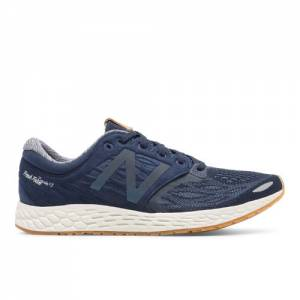 New Balance Fresh Foam Zante v3 Men's Soft and Cushioned Shoes - Navy / Off White / Tan (MZANTON3)