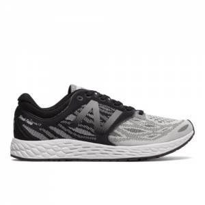 New Balance Fresh Foam Zante v3 Men's Soft and Cushioned Shoes - Grey / Black / White (MZANTWG3)