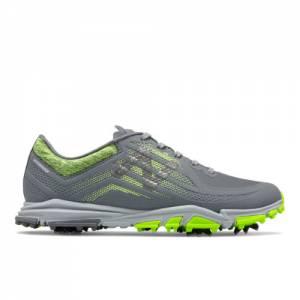 New Balance Minimus Tour Men's Golf Shoes - Grey / Green (NBG1007DG)