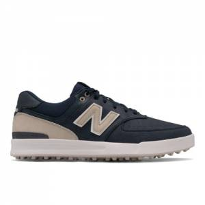 New Balance Golf Leather 574 Men's Shoes - Navy (NBG574GNV)