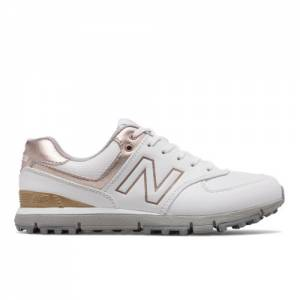 New Balance 574 SL Women's Golf Shoes - White (NBGW574WR)