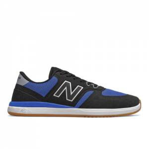 New Balance 420 Men's Lifestyle Shoes - Black / Blue (NM420NVR)