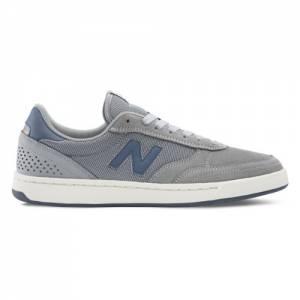 New Balance 440 Men's Numeric Skateboard Shoes - Grey / Navy (NM440GRG)