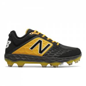 New Balance Fresh Foam 3000v4 TPU Men's Low-Cut Cleats Shoes - Black (PL3000Y4)