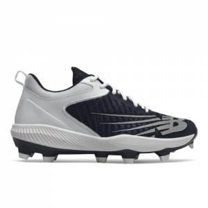 New Balance FuelCell 4040 v6 Molded Fresh Pearls Men's Baseball Shoes - Navy / White (PL4040N6)