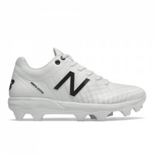 New Balance 4040v5 Men's Cleats and Turf Shoes - White (PL4040W5)