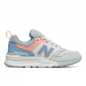 New Balance 997H Kids Lifestyle Shoes - Blue / Pink (PR997HCI)